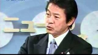 中川昭一 080922 朝日新聞社vs中川昭一 2-2