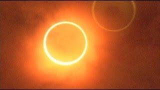 金環日食 ダイジェスト版 an annular solar eclipse