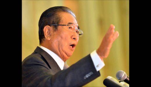 石原慎太郎、毎日新聞記者にキレる「馬鹿なことを言うな、おまえら!!」【靖国参拝】