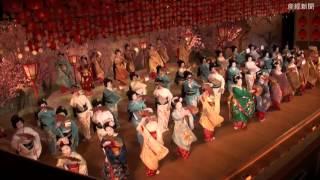 京おどり前夜祭 華麗な舞を披露