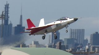 国産ステルス機、初飛行=次期戦闘機開発向け