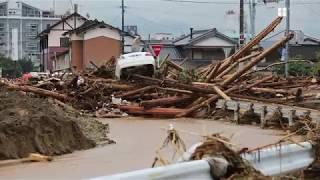 九州北部で豪雨被害
