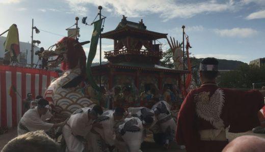 伝統の長崎くんち始まる 笛や太鼓、異国情緒あふれ