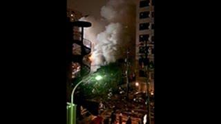 札幌市の爆発現場