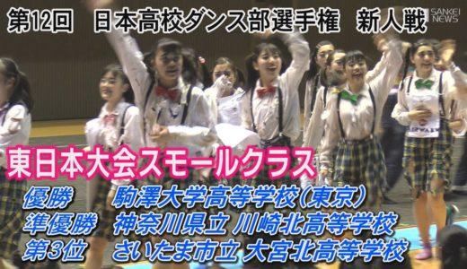日本高校ダンス部選手権 新人戦 東日本大会スモールクラス