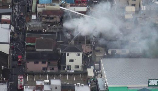 東大阪で火災