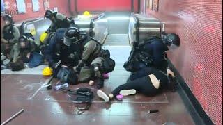 香港で10、11日もデモ 警察は強制排除へ