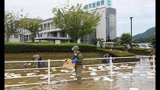 浸水の病院、孤立解消