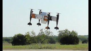 貨物用無人機の試験飛行=ヤマトと米社