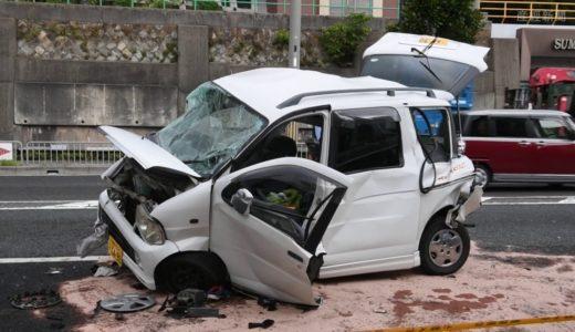 神戸市須磨区で3台絡む事故