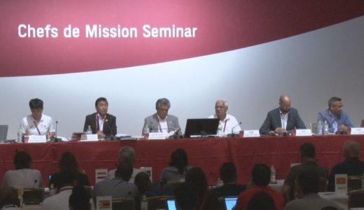 東京五輪の団長会議始まる 北朝鮮欠席、韓国動き焦点