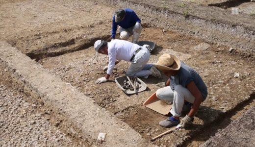 平城宮跡で太政官の施設とみられる建物遺構発掘