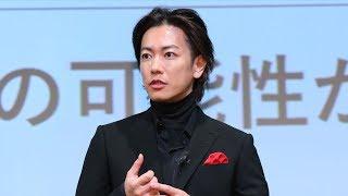 佐藤健、5Gを体験「新しい時代にワクワク」