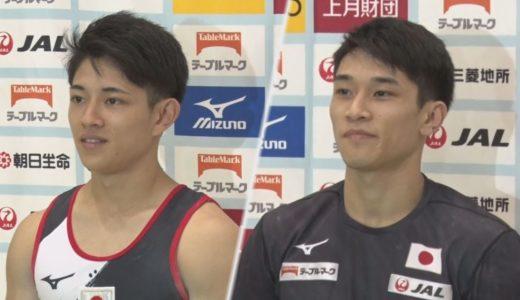 世界体操へ男子が試技会 谷川航ら好調アピール