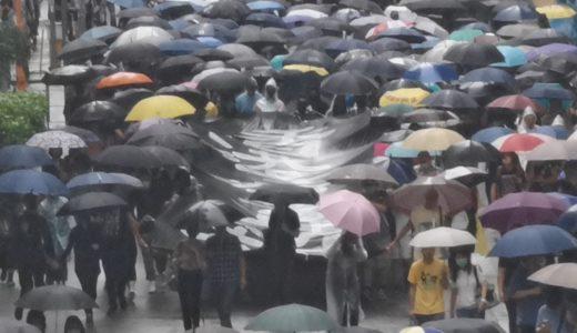 あえてマスク姿で覆面禁止法に抗議 香港デモ怒り広がる