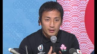 日本、20日に南ア戦=SH流「誇り高く戦う」-ラグビーW杯