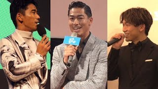 AKIRA、NAOTO、小林直己、国際映画祭に参加
