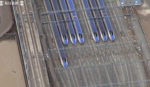 空撮・台風19号:上陸4日目、堤防の復旧作業進む 北陸新幹線は復旧見通し立たず