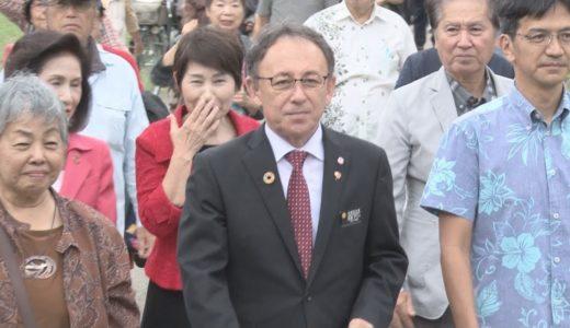 「民主主義踏みにじる」 辺野古移設で知事が陳述