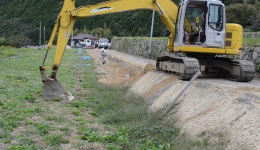 集落の願い届かず 狭い道に戻される 豪雨被災地