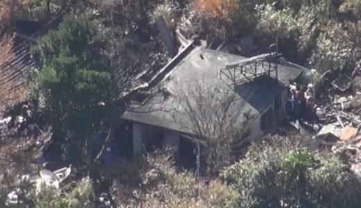 未明に住宅全焼、4人死亡 山口市の山間部