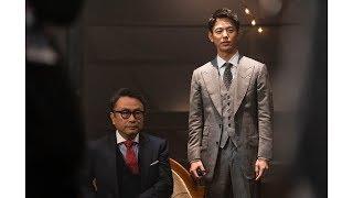 三谷幸喜、妻夫木聡と「大人エレベーター」CMに出演