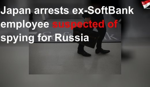 Japan arrests ex-SoftBank employee suspected of spying for Russia