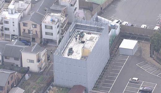 京アニ、スタジオ本体の解体始まる 跡地の利用なお未定