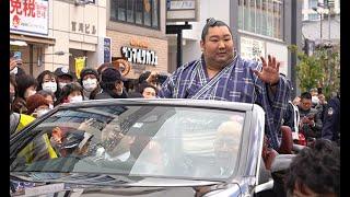 徳勝龍、地元奈良で喝采 大相撲