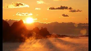 冬の風物詩「海霧」