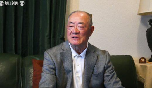 2020ヒバクシャ:張本勲さん 守ってきた暗黙の約束 今「お袋、語るよ あの日を」