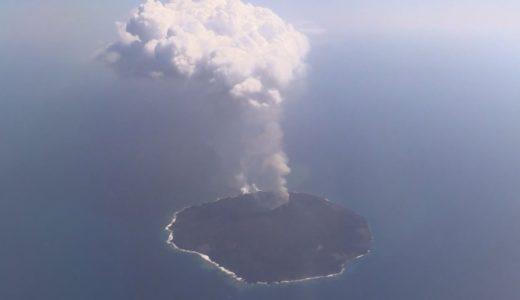 西之島、5秒間隔で噴火  噴煙は最高の2700メートル