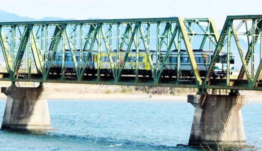 列車×川=絶景 独自の「時刻表」、撮り鉄に人気 徳島・吉野川水系