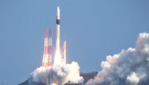 H2Aロケット打ち上げ成功 地上撮影の偵察衛星載せる