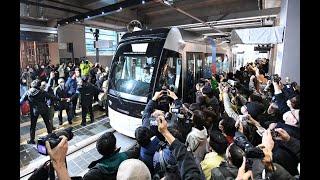 富山の路面電車が南北接続