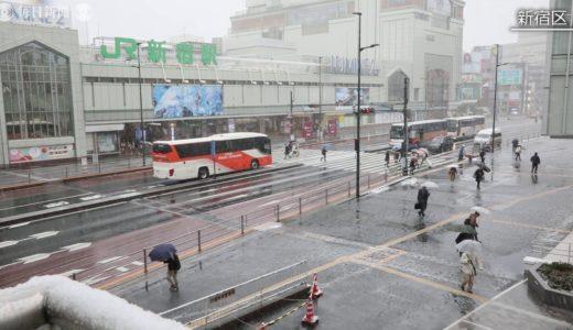 関東甲信の広い範囲で雪 都心で3月下旬積雪は32年ぶり