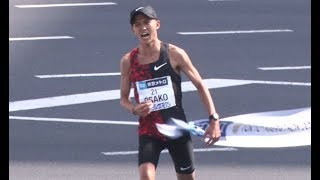 大迫、日本新で4位 五輪へ大きく前進 東京マラソン