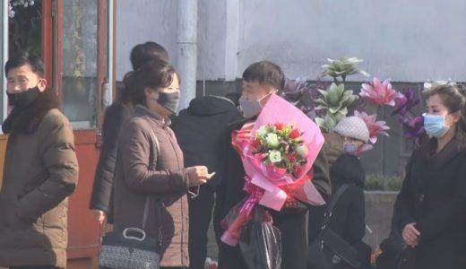 北朝鮮「女性の地位最高」 男性らプレゼント買い求め