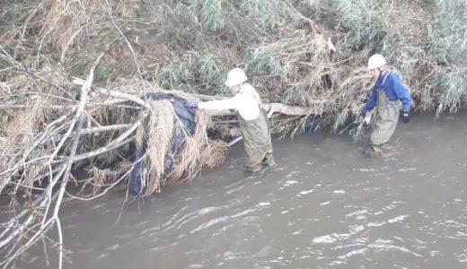 フレコンバッグ流出の現場で②なんとか許可された同行取材 環境省の調査団が見た光景