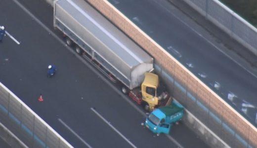 車3台絡む事故、2人死亡  第2京阪道、1人心肺停止