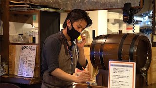 イタリア料理店に密着 都内、営業時間延長の動き