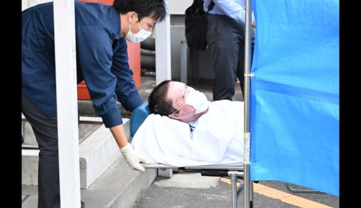 京アニ放火事件の青葉容疑者逮捕