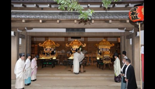 祇園祭「神輿洗式」(7月28日)