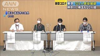 東京で124人の感染確認 神奈川、埼玉も20人超(20/07/04)