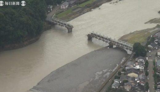 空撮:九州豪雨1週間