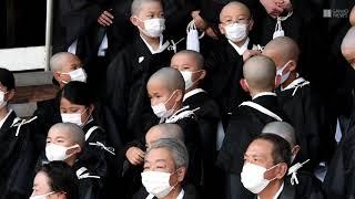 京都・東本願寺で「得度式」 小学生ら臨む