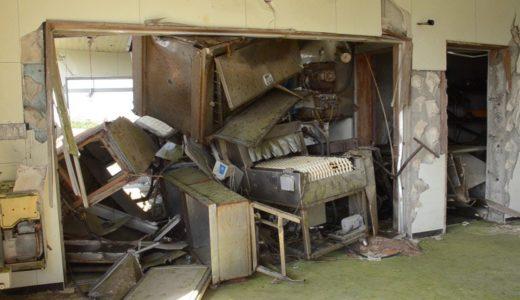 曲がる窓枠に流された調理場…福島・請戸小を震災遺構に