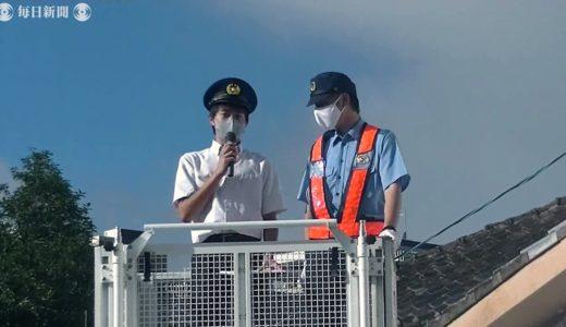 車間距離、密ですよ! 高校生「DJポリス」が出動 熊本県警