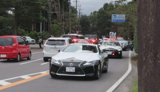 スーパーカーがパレード 栃木、交通安全運動で