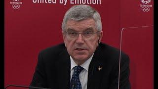 大会参加者のワクチン接種要望 IOC  バッハ会長